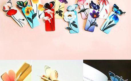 Záložka do knihy s motýlkem - dodání do 2 dnů