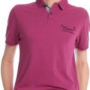 s.Oliver komfortní pánská polokošile XL fialová