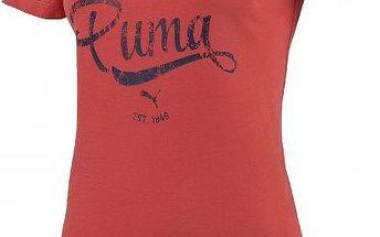 Puma Style Personal Best ATHL Tee W cayenne M