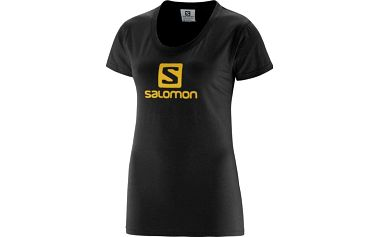 Salomon PolyLogo Tee W Black S
