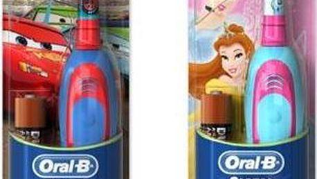 Oral-B D2 Battery červený/modrý