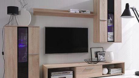 Elegantní obývací stěna RICO 4 - AKCE