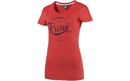 Puma Style Personal Best ATHL Tee W cayenne M