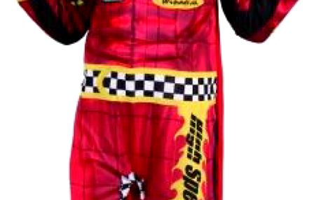 OEM Karnevalový kostým Závodník 92 - 104cm