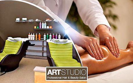 90min. ruční lymfatická masáž nebo 60min. masáž lávovými kameny v Art Studiu - Olomouc!