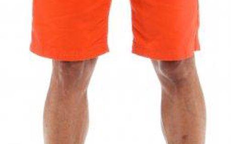 s.Oliver bavlněné pánské kraťasy 34 oranžová