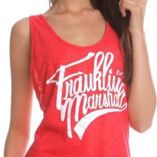 Franklin&Marshall TOWVA561N M červená