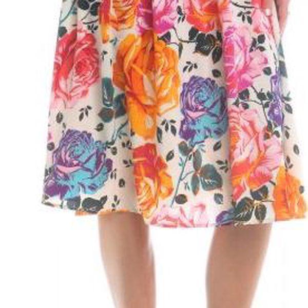Brave Soul dámská sukně Connie M smetanová