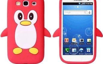 Obal na telefon Samsung Galaxy S3 i9300 - červená - skladovka