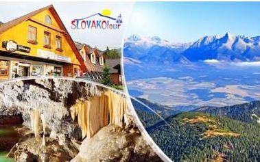 Slovensko, Nízké Tatry - Demänovská dolina na 4 dny pro dva + GoPass karta se slevami. Dítě do 12 let zdarma. Dnes končí!