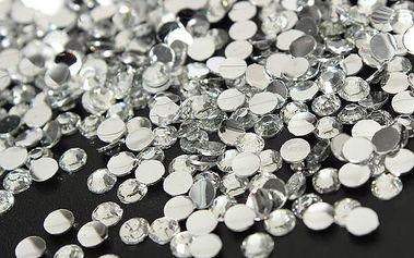 1000 nalepovacích kamínků na nehty