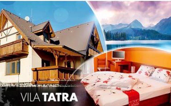 Vysoké Tatry na 3 či 4 dny pro 2 osoby + snídaně a vstup do sauny. Dítě do 4 let zdarma, starší na vlastní akční voucher.