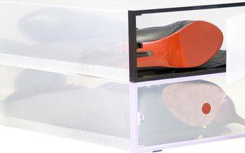 Set 2 boxů na obuv Modular