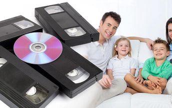 Převod záznamu z videokazety na DVD – uchovejte cenné vzpomínky