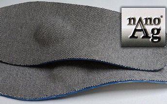 Kvalitní ortopedické vložky s nanočásticemi stříbra české značky Sekpro včetně poštovného. Anatomické tvarování vložek do bot zajišťuje podporu chodidla v namáhaných oblastech nártu a klenby. Vložky jsou díky nanočásticím stříbra antibakteriální a zamezuj