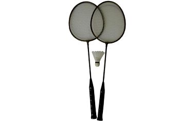 Badmintonová sada - 2 rakety+ košíček