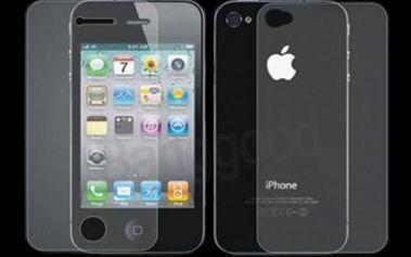 Antireflexní(matná) ochranná folie na iPhone 4, čistící ubrousek