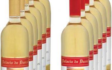 PALACIO Víno Palacio de Durcal, degustační sada - 12 lahví bílých, 0.75l Chardonnay, Sauvignon Blanc, degustační sada - 12 lahví bílých, 0.75l