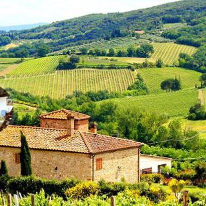 Pobyt v krásné venkovské rezidenci v toskánském stylu pro 2 osoby