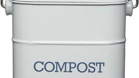 Domácí kompostér Living Nostalgia, šedý