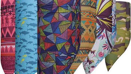 Multifunkční šátek na sport - několik variant