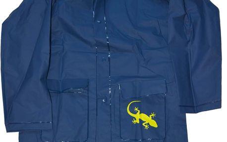 PIDILIDI Dětská pláštěnka Salamander+pytlík - modrá, 6 let