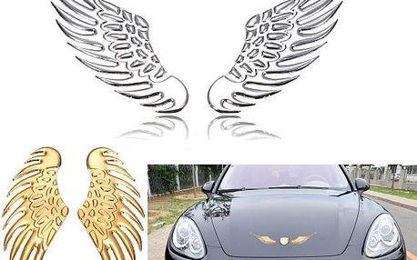 3D samolepka na auto - křídla