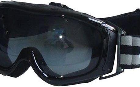 Lyžařské brýle DÁMSKÉ - černé