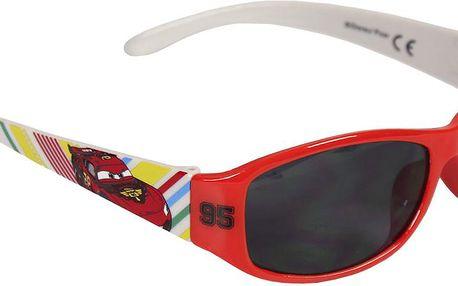 Disney Brand Chlapecké sluneční brýle Cars - červené