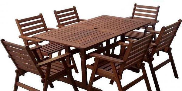 Dřevěný stůl MONROE