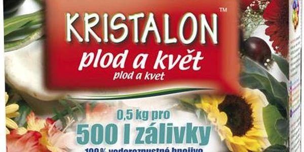 Hnojivo Agro Kristalon Plod a květ 0.5 kg