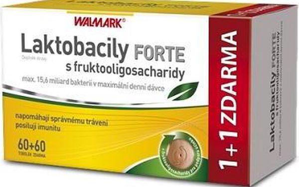 Walmark Laktobacily Forte s fruktooligosach.120 tobolek