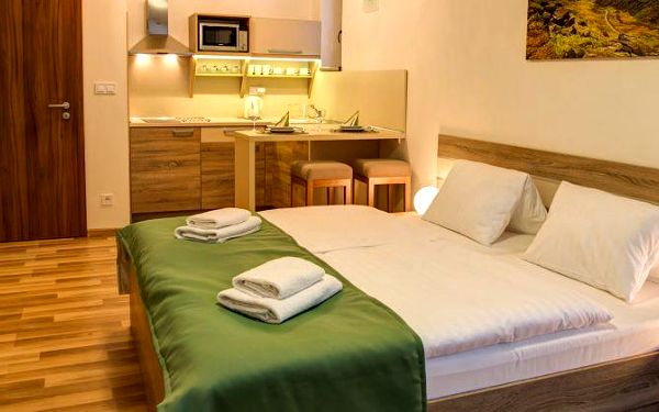 Pobyt v nových apartmánových domech Tři studničky v Nízkých Tatrách v Jasné