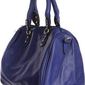 Moderní kabelka do ruky modrá