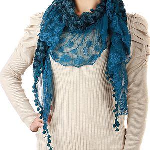 Dámský elegantní svetřík s nabíraným rukávem béžová