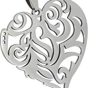Ornamentem zhotovené srdce