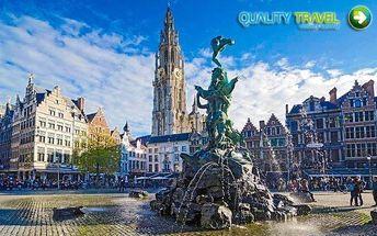 Belgie: poznávací zájezd s dopravou