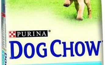 Granule Purina Dog Chow Puppy jehněčí a rýže 14 kg + 2,5 kg ZDARMA