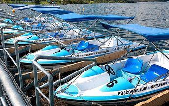 Sleva 33 % na půjčení elektro lodičky na Priglu