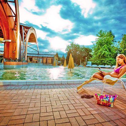 Maďarské lázně Bük pro DVA s wellness, polopenzí a půjčením kol