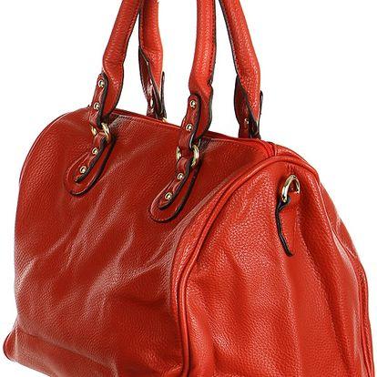 Moderní kabelka do ruky červená