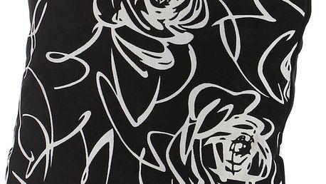 Luxusní polštářek mikroplyš černá