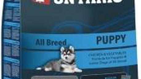 Superprémiové krmivo pro štěňata všech plemen od 4 týdnů ONTARIO Puppy 2,5kg