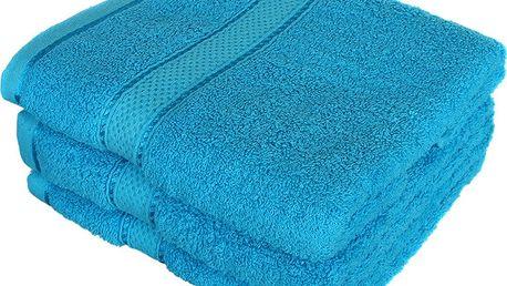Froté ručník se vzorem Menheten tmavě béžová