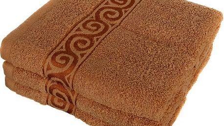 Froté ručník se vzorem Celtic bílá