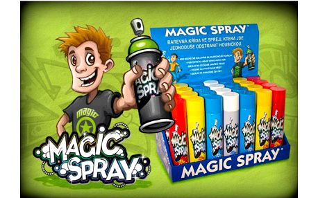 AKCE!!! Křída ve spreji Magic spray