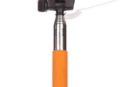 Selfie tyč oranžová