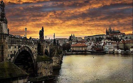 Pobyt v Praze pro 2 osoby se snídaní. Masáž v ceně.