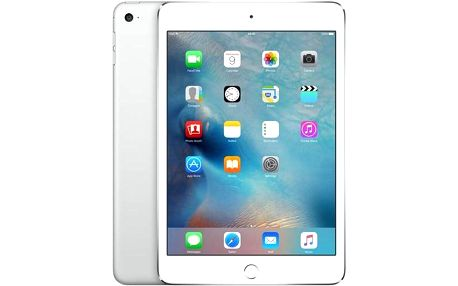 Apple iPad mini 4 Wi-Fi 64 GB - Silver (mk9h2fd/a) + dárek Voucher na skin Skinzone pro Notebook a tablet CZ + Doprava zdarma