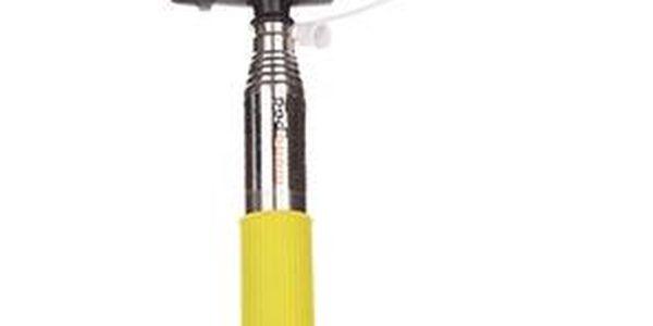 Selfie tyč žlutá
